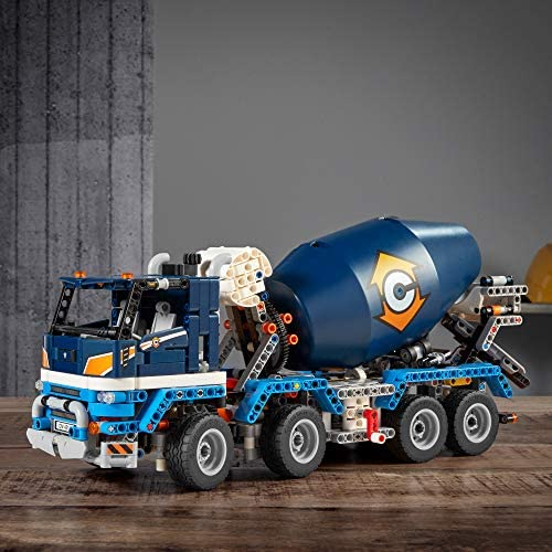 511IsgCHByL. AC  - LEGO Technic Concrete Mixer Truck 42112 Building Kit, Kids Will Love Bringing The Construction Site to Life with This Cool Concrete Truck Toy Model Set (1,163 Pieces)