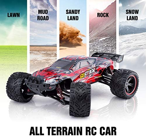 511iAJY9XgL. AC  - GoStock Remote Control Car, 1:12 Scale Fast 38km/h RC Car, 2.4Ghz Off-Road RC Trucks, Remote Control Truck Monster Truck for Boys & Kids Adult