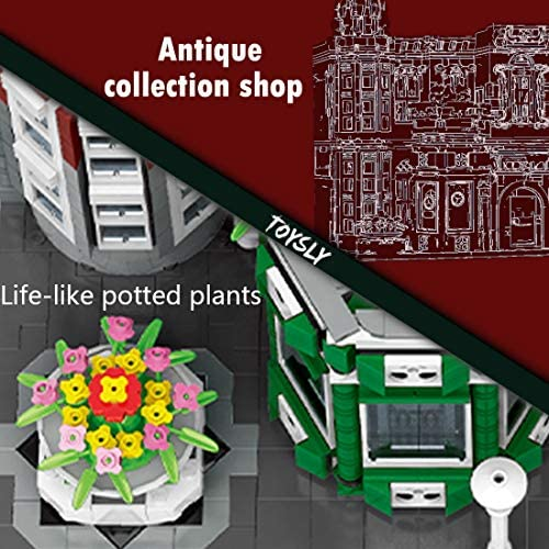511x2hzvz2L. AC  - TOYSLY Street Antique Collection Shop MOC Building Blocks and Engineering Toy, Construction Set to Build, Model Set and Assembly Toy for Teens and Adult 3037 Pieces