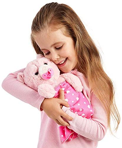 512g9Qery6L. AC  - Little Live Pets Cozy Dozy Pinki The Bear - Over 25 Sounds and Reactions | Bedtime Buddies, Blanket and Pacifier Included | Stuffed Animal, Best Nap Time, Interactive Teddy Bear