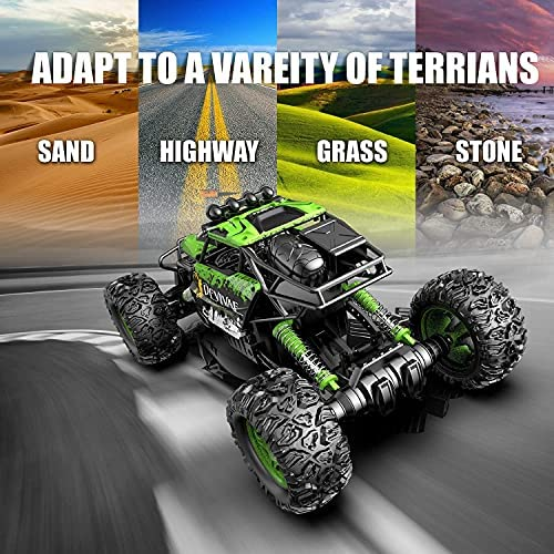 512o Ohc AS. AC  - DEVIVAE RC Cars 2059 Remote Control Car for Adults Kids, 1:12 Scale 15Km/h All Terrain Monster Trucks 4WD Off-Road 2.4GHz Rock Crawler with 80Mins Play, Vehicle Toy Ideal Gift for 6 7 8 9 10 Boy Girl