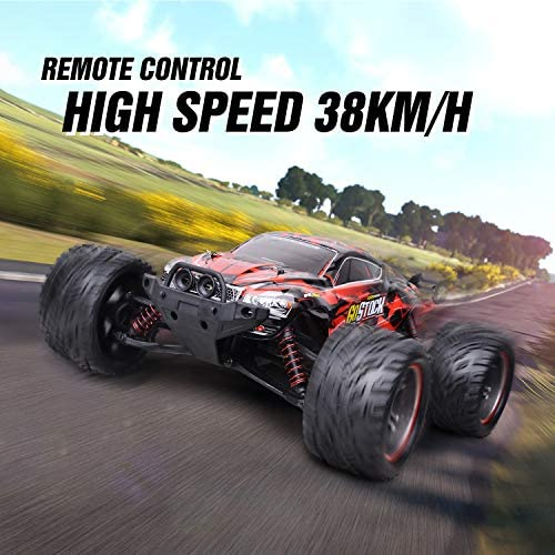 513tABInHdL. AC  - GoStock Remote Control Car, 1:12 Scale Fast 38km/h RC Car, 2.4Ghz Off-Road RC Trucks, Remote Control Truck Monster Truck for Boys & Kids Adult