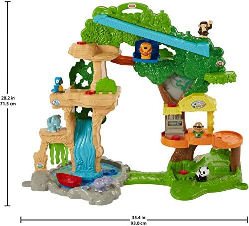 516GpCSQWhL. AC  - Fisher-Price Little People Happy Animals Habitat