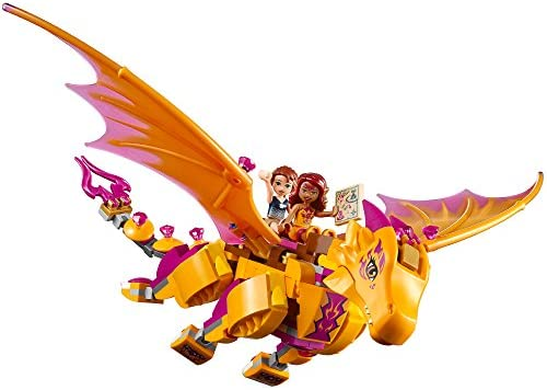 518dTmq7BoL. AC  - LEGO Elves Fire Dragon's Lava Cave 41175 Creative Play Toy for 8- to 12-Year-Olds