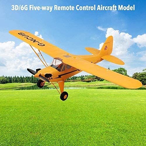 518uVjd25IL. AC  - iHobby RC Plane,4 Channel Remote Control Airplane Ready to Fly, 2.4Ghz RC Aircraft with Brushless Motor,RC Airplane for Adults and Advanced Kids