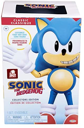 """519Bwiop tL. AC  - Sonic The Hedgehog Ultimate 6"""" Sonic Collectible Action Figure"""
