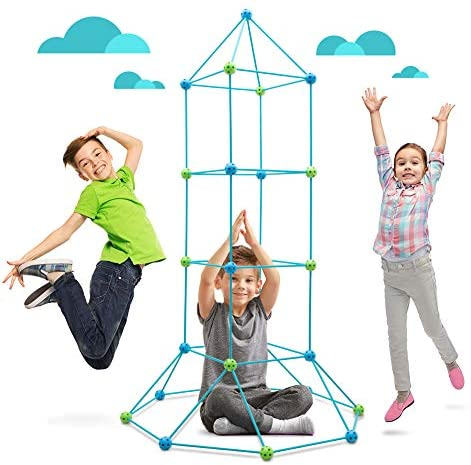 51BKaQJLVmL. AC  - Obuby Kids Fort Building Kit Construction STEM Toys for 5 6 7 8 9 10 11 12 Years Old Boys and Girls Ultimate Forts Builder Gift Build DIY Building Educational Learning Toy for Indoor & Outdoor