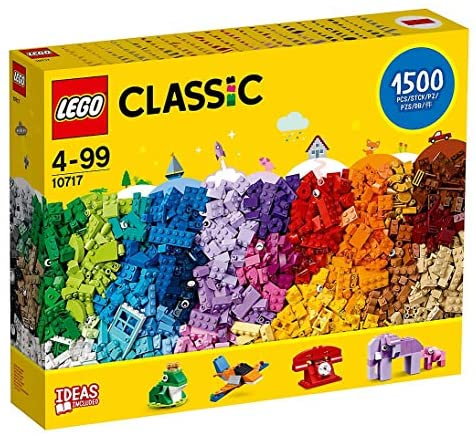 51DFtVkLigL. AC  - LEGO Classic 10717 Bricks Bricks Bricks 1500 Piece Set - Encourages Creativity in all Ages - Ideal for Creators of all Ages - Brick Separator Included