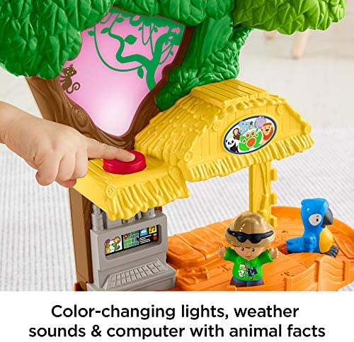 51I2o4HEs0L. AC  - Fisher-Price Little People Happy Animals Habitat