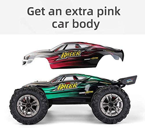 51Jx9x6IivL. AC  - MIEBELY RC Cars 1: 16 Scale All Terrain 4x4 Remote Control Car for Adults & Kids, 40+ KM/H Waterproof Off-Road RC Trucks, High Speed Electronic Cars, 2.4Ghz Radio Controller, 2 Batteries, 2 Car Bodies