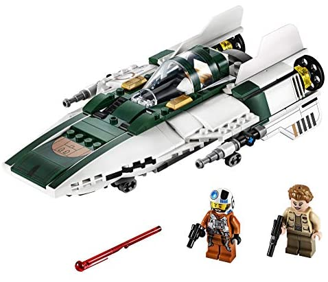 51Q7jDpdYWL. AC  - LEGO Star Wars: The Rise of Skywalker Resistance A Wing Starfighter 75248 Advanced Collectible Starship Model Building Kit (269 Pieces)