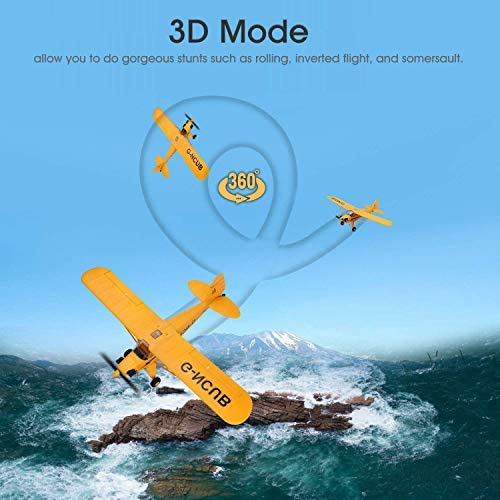 51UEkhxmOfL. AC  - iHobby RC Plane,4 Channel Remote Control Airplane Ready to Fly, 2.4Ghz RC Aircraft with Brushless Motor,RC Airplane for Adults and Advanced Kids
