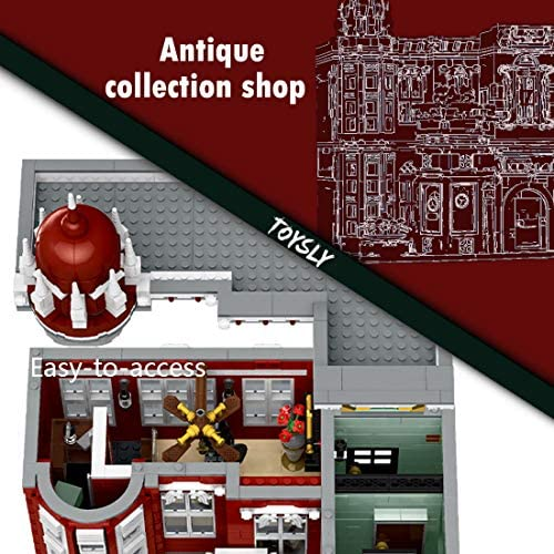 51UJ8P+DMwL. AC  - TOYSLY Street Antique Collection Shop MOC Building Blocks and Engineering Toy, Construction Set to Build, Model Set and Assembly Toy for Teens and Adult 3037 Pieces