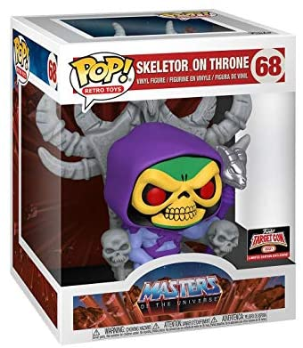 51Wkq0wr0CL. AC  - Funko POP! Vinyl Retro Toys #68: Masters of The Universe Skeletor on Throne, Target Con 2021 Limited Edition Exclusive