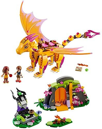 51b5810w14L. AC  - LEGO Elves Fire Dragon's Lava Cave 41175 Creative Play Toy for 8- to 12-Year-Olds