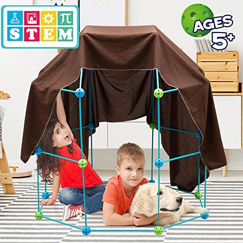51bqtlv7UyL. AC  - Obuby Kids Fort Building Kit Construction STEM Toys for 5 6 7 8 9 10 11 12 Years Old Boys and Girls Ultimate Forts Builder Gift Build DIY Building Educational Learning Toy for Indoor & Outdoor