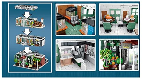 51eBx XKyPS. AC  - PHYNEDI Street View Center Flower Shop Garden Centre Bricks Model Compatible with Lego, DIY Large Architecture Educational Building Block Assembly Small Particle Construction Toy (3,648 Pieces)
