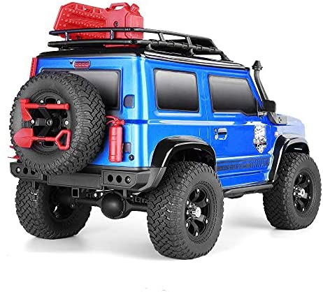 51f075WtD0S. AC  - RGT RC Crawler 1:10 4wd Crawler Off Road Rock Cruiser RC-4 136100V3 4x4 Waterproof Hobby RC Car Toy for Adults (Blue)