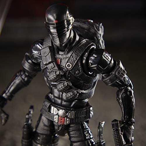 51hk5Nh+h0L. AC  - G.I. Joe Classified Series Snake Eyes Action Figure 02 Collectible Premium Toy with Multiple Accessories 6-Inch Scale with Custom Package Art