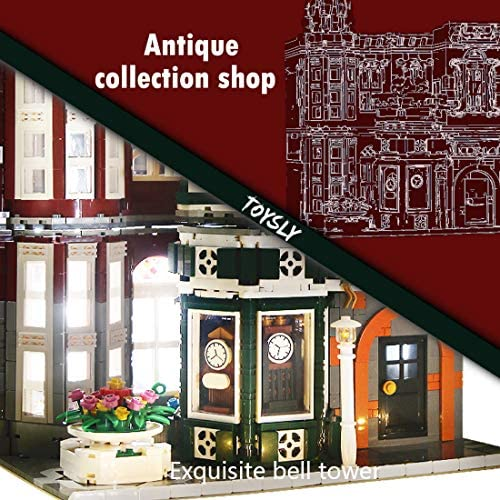 51iHUltfXvL. AC  - TOYSLY Street Antique Collection Shop MOC Building Blocks and Engineering Toy, Construction Set to Build, Model Set and Assembly Toy for Teens and Adult 3037 Pieces