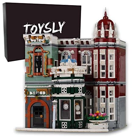 51nUtQosX0L. AC  - TOYSLY Street Antique Collection Shop MOC Building Blocks and Engineering Toy, Construction Set to Build, Model Set and Assembly Toy for Teens and Adult 3037 Pieces