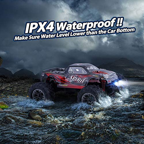 51nXBJ7KwrL. AC  - HisHerToy Remote Control Car for Adults Boys Girls Big RC Trucks for Adults IPX4 Waterproof Off Road RC Cars for Adults Kids 1:16 // 36km/h Monster Hobby Cross-Country Buggy with Headlights
