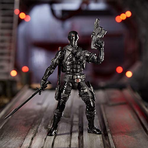 51pnsBv1DLL. AC  - G.I. Joe Classified Series Snake Eyes Action Figure 02 Collectible Premium Toy with Multiple Accessories 6-Inch Scale with Custom Package Art
