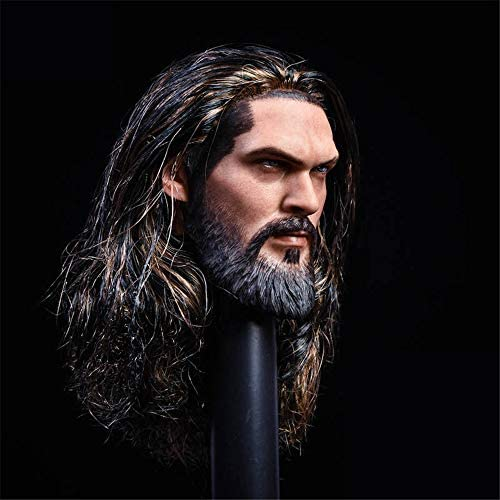51qbfcIyuiL. AC  - HiPlay 1/6 Scale Male Figure Head Sculpt, Handsome Men Tough Guy , Doll Head for 12 inch Action Figure HS044 (A)