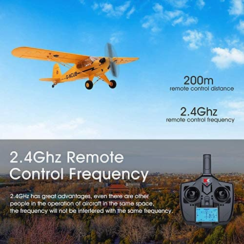 51qokfyM5VL. AC  - iHobby RC Plane,4 Channel Remote Control Airplane Ready to Fly, 2.4Ghz RC Aircraft with Brushless Motor,RC Airplane for Adults and Advanced Kids
