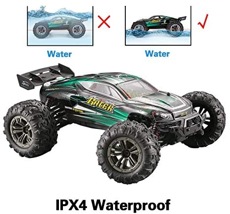 51sRhCx7iwL. AC  - MIEBELY RC Cars 1: 16 Scale All Terrain 4x4 Remote Control Car for Adults & Kids, 40+ KM/H Waterproof Off-Road RC Trucks, High Speed Electronic Cars, 2.4Ghz Radio Controller, 2 Batteries, 2 Car Bodies