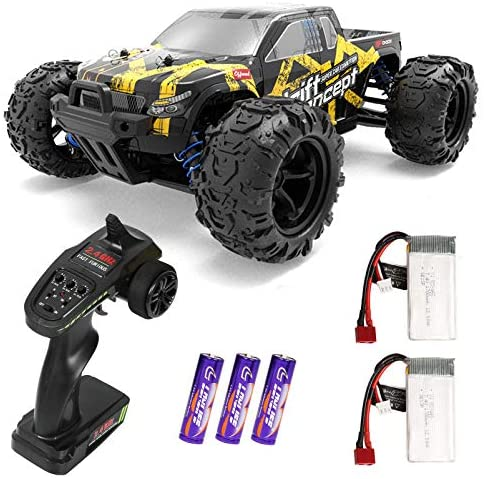 51vxnwcr1tL. AC  - 1/18 RC Cars High Speed Remote Control Car for Adults Kids 30+MPH, 4WD Off-Road RC Monster Truck, Fast 2.4GHz All Terrains Toy Trucks Gifts for Boys, with 2 Rechargeable Batteries for 40Min Play