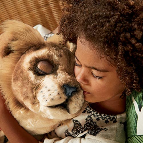 51wwiKDsPyL. AC  - Hasbro Disney The Lion King Mighty Roar Simba Interactive Plush Toy, Brought to Life by Furreal, 100+ Sound &-Motion Combinations, Ages 4 & Up