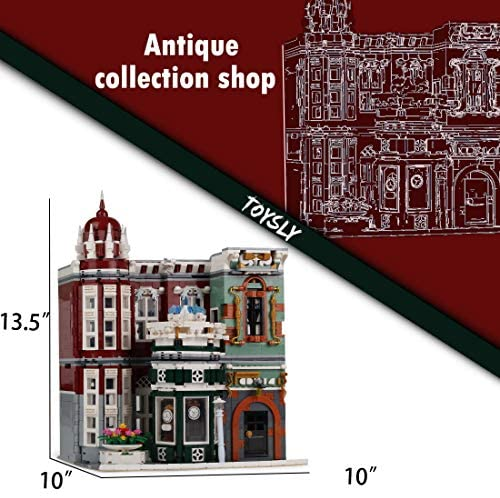 51xCercgqRL. AC  - TOYSLY Street Antique Collection Shop MOC Building Blocks and Engineering Toy, Construction Set to Build, Model Set and Assembly Toy for Teens and Adult 3037 Pieces