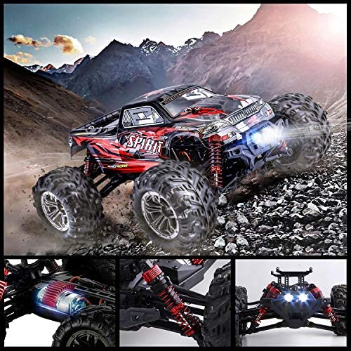 61CNGnkY3RL. AC  - HisHerToy Remote Control Car for Adults Boys Girls Big RC Trucks for Adults IPX4 Waterproof Off Road RC Cars for Adults Kids 1:16 // 36km/h Monster Hobby Cross-Country Buggy with Headlights
