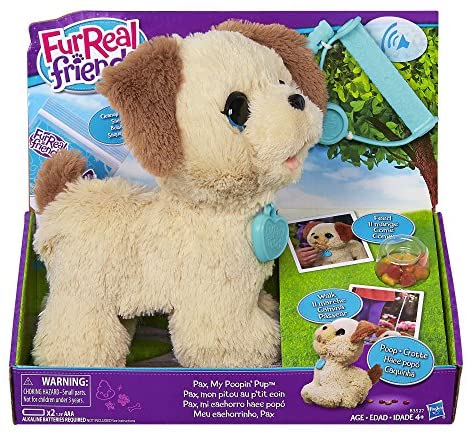 61GvxIIWmZL. AC  - furReal Friends Pax My Poopin Pup Plush Toy (Amazon Exclusive)