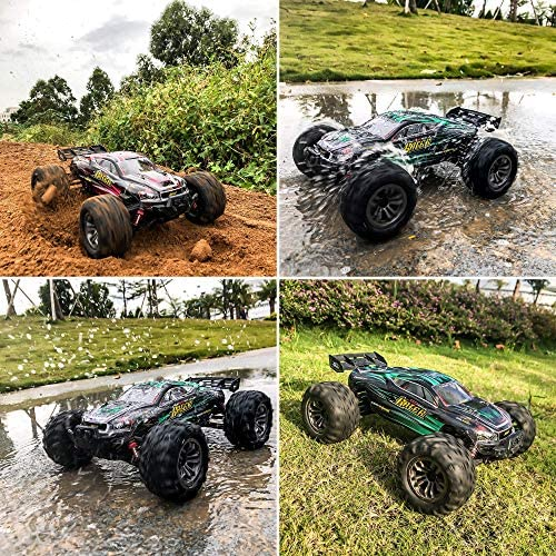 61HilV51OkL. AC  - MIEBELY RC Cars 1: 16 Scale All Terrain 4x4 Remote Control Car for Adults & Kids, 40+ KM/H Waterproof Off-Road RC Trucks, High Speed Electronic Cars, 2.4Ghz Radio Controller, 2 Batteries, 2 Car Bodies