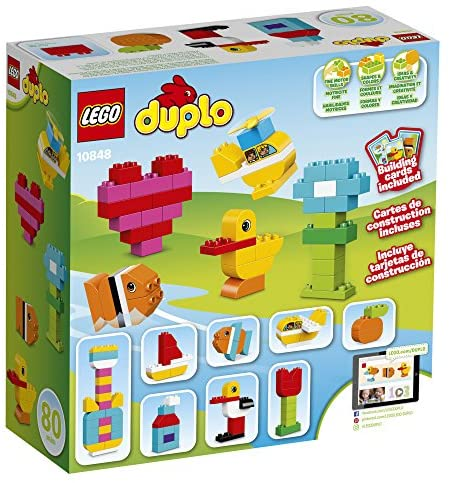 61JhRTjbD7L. AC  - LEGO DUPLO My First Bricks 10848 Colorful Toys Building Kit for Toddler Play and Pretend Play (80 Pieces)
