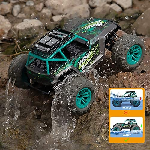 61KHAvHHf7L. AC  - Remote Control Car, 1:14 Scale Christmas Large RC Cars 36 KM/H Speed 4WD Off Road Monster Trucks, All Terrain Electric Toy Trucks for Adults & Boys 8-12 - 2 Batteries for 60+ Min Play