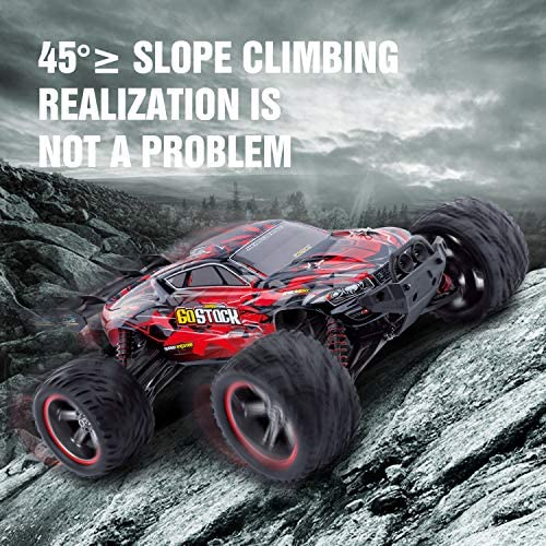 61OKQI1RNBL. AC  - GoStock Remote Control Car, 1:12 Scale Fast 38km/h RC Car, 2.4Ghz Off-Road RC Trucks, Remote Control Truck Monster Truck for Boys & Kids Adult
