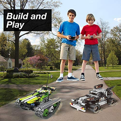 61Wid7CRuIL. AC  - Remote Control Car Building Kit - RC Tracked Racer 3 in 1 Building Set, Fun, Educational, Learning, STEM Toys, Best Gift for Kids Age 8-12, 14 Year Old Boys and Girls (353pcs)