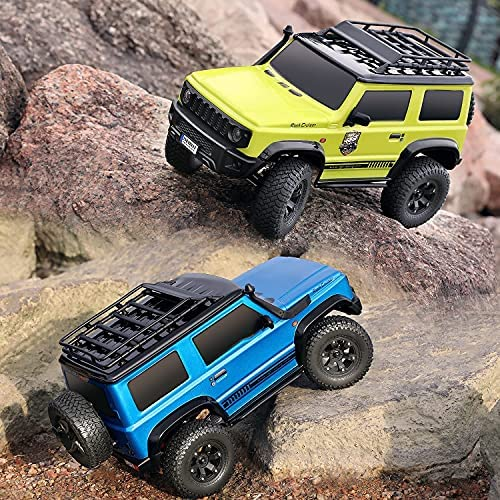 61gO881rmRS. AC  - RGT RC Crawler 1:10 4wd Crawler Off Road Rock Cruiser RC-4 136100V3 4x4 Waterproof Hobby RC Car Toy for Adults (Blue)