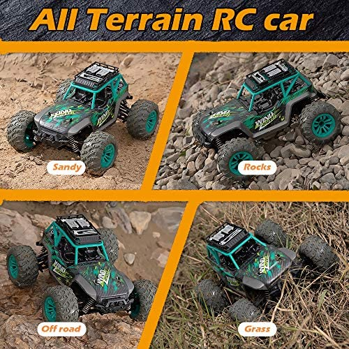 61nh6TfIOaL. AC  - Remote Control Car, 1:14 Scale Christmas Large RC Cars 36 KM/H Speed 4WD Off Road Monster Trucks, All Terrain Electric Toy Trucks for Adults & Boys 8-12 - 2 Batteries for 60+ Min Play