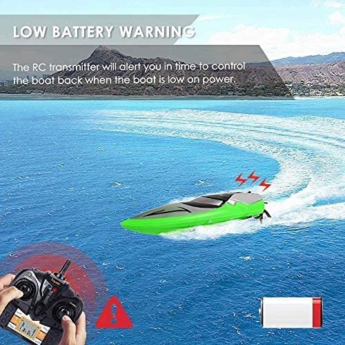 61odp8yYqMS. AC  - RC Boat [Upgraded 2021] - SHARKOOL 2.4 GHZ 25+ MPH Remote Control Boat, Fast RC Boats for Adults and Kids, Remote Controlled Boat for Pools and Lakes with 2 Rechargeable Batteries