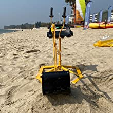 64b3aa79 2f21 4466 8ee4 64ef6cb5f1ab.  CR0,0,1600,1600 PT0 SX220 V1    - Hand-Mart Kids Ride On Sand Digger, 360° Rotatable Excavator Toy Crane with Base for Sand, Dirt, Snow, Beach, Heavy Duty Steel Digging Toys for Boys Girls, Sandbox Digger for Kids Outdoor