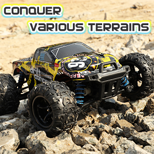 6a0d51c3 83db 4922 a2b7 7d31dab48ad6.  CR0,0,300,300 PT0 SX300 V1    - 1/18 RC Cars High Speed Remote Control Car for Adults Kids 30+MPH, 4WD Off-Road RC Monster Truck, Fast 2.4GHz All Terrains Toy Trucks Gifts for Boys, with 2 Rechargeable Batteries for 40Min Play