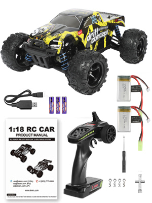 6d85a59f 309c 493e 9f09 101b93e11144.  CR0,0,300,400 PT0 SX300 V1    - 1/18 RC Cars High Speed Remote Control Car for Adults Kids 30+MPH, 4WD Off-Road RC Monster Truck, Fast 2.4GHz All Terrains Toy Trucks Gifts for Boys, with 2 Rechargeable Batteries for 40Min Play