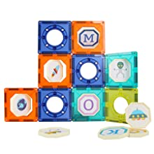 729e043b 4074 4c44 b4d6 7b10ba81fbcc.  CR0,0,900,900 PT0 SX220 V1    - JUMAGA Magnetic Tiles Marble Run for Kids, 3D Pipes Magnets Building Blocks Track Set, STEM Educational Toy Gift for Toddlers Boys Girls Age 3+, 125 Piece