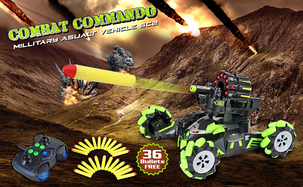 798d945b 810f 4d3b 8880 2587cb15f59d.  CR0,0,970,600 PT0 SX970 V1    - Contixo SC2 All Terrain Combat Commando Military Assault Vehicle 2.4GHz Remote Control Car for Boys 8-12, RC Car Toy Vehicle Comes with 36 Bullets. Moves Fast and Battles with Other SC2 rc Cars!