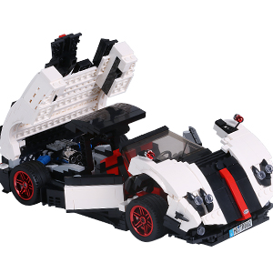 7d1d9db3 6173 4f39 8c68 55945e588f8f.  CR0,0,300,300 PT0 SX300 V1    - TOYSLY Mini Sports Car Zoda MOC Building Blocks and Construction Toy, Adult Collectible Model Cars Set to Build, 1:14 Scale Race Car Model (960 Pcs)