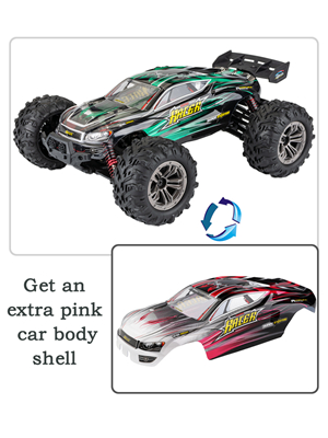 7f7c65a8 56c7 4881 95e2 cb503525eb81.  CR0,0,300,400 PT0 SX300 V1    - MIEBELY RC Cars 1: 16 Scale All Terrain 4x4 Remote Control Car for Adults & Kids, 40+ KM/H Waterproof Off-Road RC Trucks, High Speed Electronic Cars, 2.4Ghz Radio Controller, 2 Batteries, 2 Car Bodies